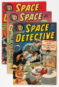 Golden Age (1938-1955):Science Fiction, Space Detective #1-3 Group (Avon, 1951-52).... (Total: 3 ComicBooks)