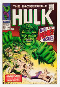 Silver Age (1956-1969):Superhero, The Incredible Hulk #102 (Marvel, 1968) Condition: VF-....