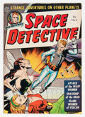 Golden Age (1938-1955):Science Fiction, Space Detective #4 (Avon, 1952) Condition: VF....