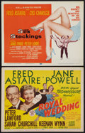 "Movie Posters:Musical, Royal Wedding and Other Lot (MGM, 1951). Title Lobby Cards (2) (11"" X 14""). Musical.. ... (Total: 2 Items)"