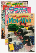 Golden Age (1938-1955):War, DC Golden Age War Comics Group (DC, 1954-55) Condition: AverageVG.... (Total: 4 Comic Books)