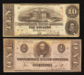 Confederate Notes:1863 Issues, T59 and T62 1863 Notes.. ... (Total: 2 notes)