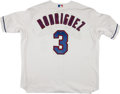 Baseball Collectibles:Uniforms, Alex Rodriguez Signed Texas Rangers Jersey....