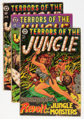 Golden Age (1938-1955):Horror, Terrors of the Jungle Group (Star Publications, 1952-54) Condition:Average VG.... (Total: 4 Comic Books)