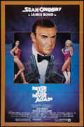 "Movie Posters:James Bond, Never Say Never Again (Warner Brothers, 1983). One Sheet (27"" X41"") & Lobby Cards (4) (11"" X 14""). James Bond.. ... (Total: 5Items)"