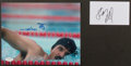 Olympic Collectibles:Autographs, Olympic Legends Signed Photos And Index Card Lot Of 2....