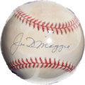 Autographs:Others, Joe DiMaggio Signed Ball....