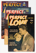Golden Age (1938-1955):Romance, Perfect Love #4, 6, and 8 Group (Ziff-Davis, 1952) Condition: Average FN/VF.... (Total: 3 Comic Books)