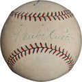 "Autographs:Baseballs, Circa 1927 ""Murderer's Row"" Signed Baseball with Ruth, Gehrig,Etc...."