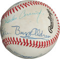Autographs:Baseballs, 1980's Moon Mission Astronauts Signed Baseball--11 of 12Moonwalkers!...