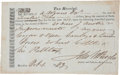 Miscellaneous:Ephemera, [Slavery]. Slave Tax Receipt....