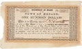 Miscellaneous:Ephemera, Town of Menard Stock Certificate....