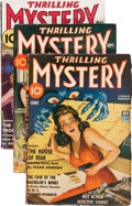 Pulps:Detective, Thrilling Mystery Group (Standard, 1938-43) Condition: AverageVG/FN.... (Total: 4 Items)