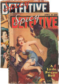 Pulps:Detective, Spicy Detective Stories Group (Culture, 1940-41) Condition: AverageVG+.... (Total: 2 Items)