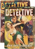 Pulps:Detective, Spicy Detective Stories Group (Culture, 1940-42) Condition: Average VG+.... (Total: 2 Items)