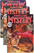 Pulps:Detective, Thrilling Mystery Group (Standard, 1936-37) Condition: AverageVG/FN.... (Total: 3 Items)