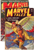 Pulps:Science Fiction, Marvel Tales/Marvel Science Stories #1 Group (Red Circle, 1938-39).... (Total: 2 Items)