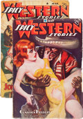 Pulps:Western, Spicy Western Stories Group (Culture, 1937-41) Condition: Average VG/FN.... (Total: 2 Items)