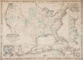 Miscellaneous:Maps, [Map]. Johnson's New Military Map of the United States showingthe Forts, Military Posts &c. with Enlarged Plans ofSout...