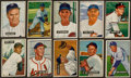 Baseball Cards:Lots, 1951 Bowman Baseball Collection (59) Including 10 High Numbers....