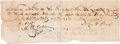 "Autographs:Military Figures, John S. ""RIP"" Ford Signed Promissory Note...."