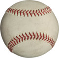 Baseball Collectibles:Balls, 1971 Reggie Jackson All-Star Game Home Run Baseball....