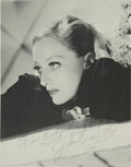 Movie/TV Memorabilia:Autographs and Signed Items, A Joan Crawford Signed Black and White Image, Circa 1930s....