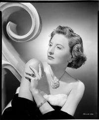 "Barbara Stanwyck (Paramount, 1940s). Kodak Safety Negative (8"" X 9.5""). Miscellaneous"