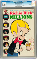 Silver Age (1956-1969):Cartoon Character, Richie Rich Millions #20 File Copy (Harvey, 1966) CGC NM+ 9.6 Off-white to white pages....