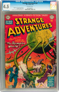 Golden Age (1938-1955):Science Fiction, Strange Adventures #6 (DC, 1951) CGC VG+ 4.5 Off-white pages....