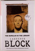 Books:Mystery & Detective Fiction, Lawrence Block. SIGNED. The Burglar in the Library. [Herts]: No Exit Press, [1997]. First edition, first printing. ...