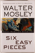 Books:Mystery & Detective Fiction, Walter Mosley. SIGNED. Six Easy Pieces. New York: Atria,[2003]. First edition, first printing. Signed by Mosley...