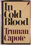 Books:Biography & Memoir, Truman Capote. In Cold Blood. New York: Random House,[1965]. First edition, first printing. Octavo. 343 pages. Publ...