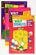 Bronze Age (1970-1979):Cartoon Character, Walt Disney's Comics and Stories File Copies Group (Gold Key, 1970-80) Condition: Average VF+.... (Total: 32 Comic Books)