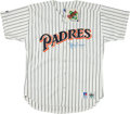 Baseball Collectibles:Uniforms, Tony Gwynn Signed San Diego Padres....
