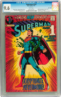 Bronze Age (1970-1979):Superhero, Superman #233 Twin Cities pedigree (DC, 1971) CGC NM+ 9.6 Whitepages....