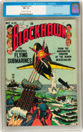 Golden Age (1938-1955):War, Blackhawk #64 (Quality, 1953) CGC NM- 9.2 Off-white to whitepages....