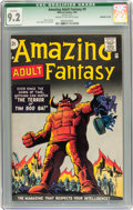 Silver Age (1956-1969):Science Fiction, Amazing Adult Fantasy #9 (Marvel, 1962) CGC Qualified NM- 9.2 Cream to off-white pages....