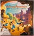 Books:Art & Architecture, [Disney]. SIGNED. Frank Thomas and Ollie Johnston. DisneyAnimation: The Illusion of Life. New York: Abbeville Press...