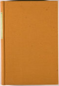 Books:Literature Pre-1900, [Limited Editions Club]. SIGNED. [Thomas Hart Benton, illustrator].Mark Twain. Adventures of Huckleberry Finn. New ...