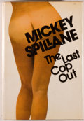 Books:Mystery & Detective Fiction, Mickey Spillane. SIGNED. The Last Cop Out. New York: Dutton, 1973. First edition. Inscribed by Spillane on fro...