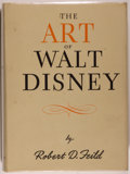 Books:Art & Architecture, [Disney]. Robert D. Feild. The Art of Walt Disney. New York: Macmillan, 1942. First edition, first printing. Qua...