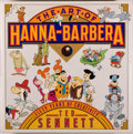 """Books:Art & Architecture, [Animation]. Ted Sennett. SIGNED BY """"FRED FLINTSTONE"""" AND """"JUDY JETSON'. The Art of Hanna-Barbera: Fifty Years of Creati..."""