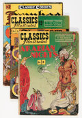 Golden Age (1938-1955):Classics Illustrated, Classics Illustrated Short Box Group (Gilberton, 1950s) Condition:Average GD....