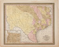 Miscellaneous:Maps, [Map]. C. S. Williams. Map of Texas from the Most RecentAuthorities....