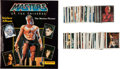 Memorabilia:Movie-Related, Masters of the Universe Motion Picture Sticker Album andSticker Card Group (Panini, 1987)....