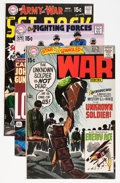Bronze Age (1970-1979):Miscellaneous, DC Bronze Age Joe Kubert Covers Only Group (DC, 1970).... (Total:29 Items)