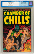 Golden Age (1938-1955):Horror, Chamber of Chills #11 Mile High pedigree (Harvey, 1952) CGC VF+ 8.5White pages....