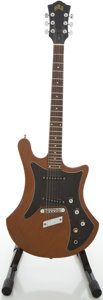 Musical Instruments:Electric Guitars, Circa 1978 Guild S60-D Mahogany Solid Body Electric Guitar, #189671....