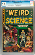 Golden Age (1938-1955):Science Fiction, Weird Science #15 (#4) (EC, 1950) CGC VG/FN 5.0 Cream to off-whitepages....